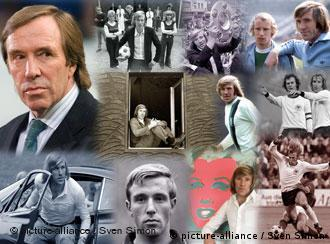 Günter Theodor Netzer feiert am 14. September 2009 seinen 65. Geburtstag (Fotomontage: picture alliance/Sven Simon)
