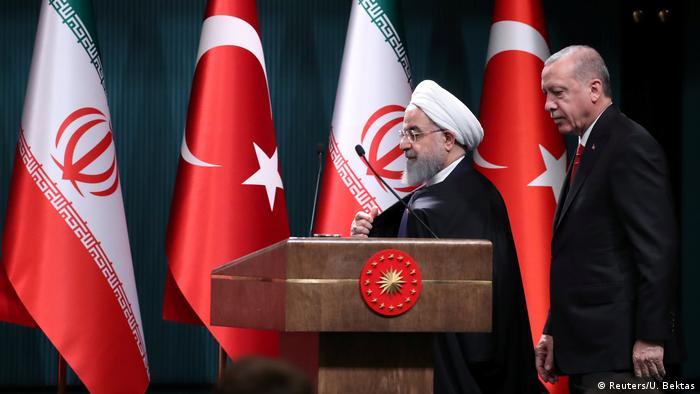 Türkei PK Erdogan und Rohani in Ankara (Reuters/U. Bektas)