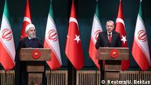 Türkei PK Erdogan und Rohani in Ankara