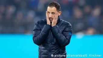 FC Schalke 04 - Bayer Leverkusen | Domenico Tedesco, Trainer Schalke 04