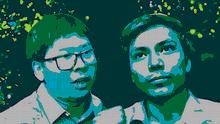 dw freedom Wa Lone (links) und Kyaw Soe Oo