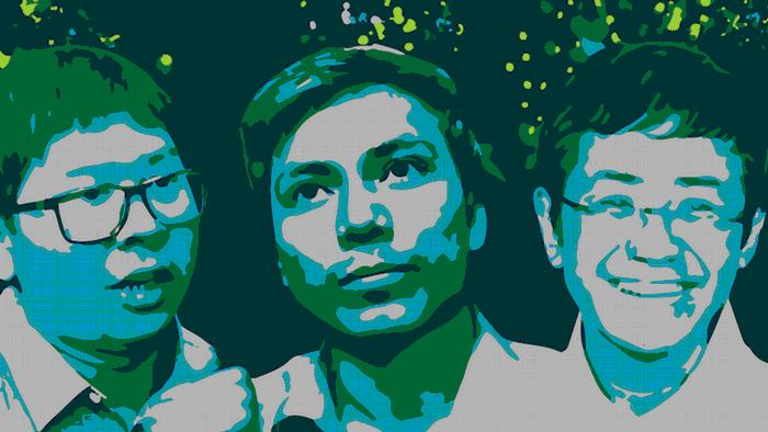 dw freedom Wa Lone Kyaw Soe Oo Maria Ressa
