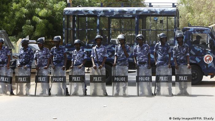 Police in Khartoum