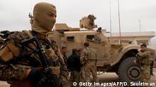 Syrien Krieg US-Armee in Al-Darbasiyah