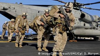 US Truppen im Persischen Golf (Imago/ZUMA Press/USMC/Cpl. D. Morgan)