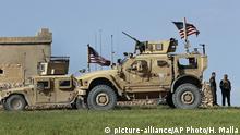 Syrien US Armee in Manbij