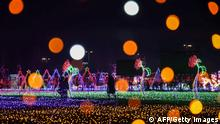 BdTD Bild des Tages Deutsch Lichtinstallation in China