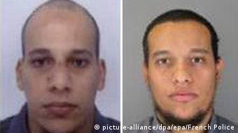 Charlie-Hebdo-Attentäter Cherif Kouachi und Said Kouachi