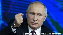 Putin bei Jahrespressekonferenz 2018