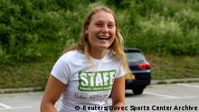 Louisa Vesterager Jespersen wears a Bovec Sports Center t-shirt in this undated photo obtained from social media on December 20, 2018. Bovec Sports Center Archive/via REUTERS ATTENTION EDITORS - THIS IMAGE HAS BEEN SUPPLIED BY A THIRD PARTY. MANDATORY CREDIT. NO RESALES. NO ARCHIVES