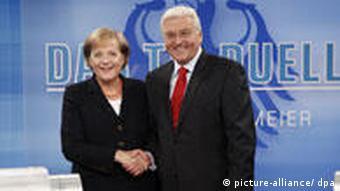 Deutschland Wahl Das TV Duell