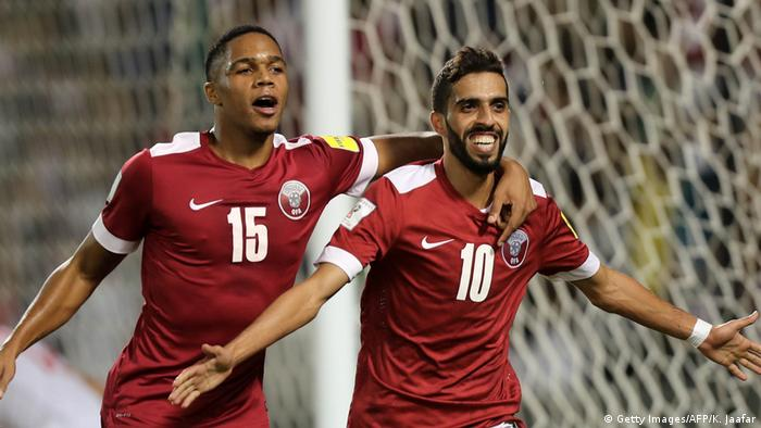 Qatar's youthful squad could spring a few surprises at the 2019 Asian Cup. (Getty Images/AFP/K. Jaafar)