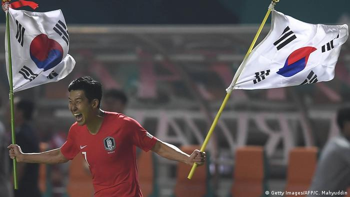Südkoreas Stürmer Heung Min Son (Getty Images/AFP/C. Mahyuddin)