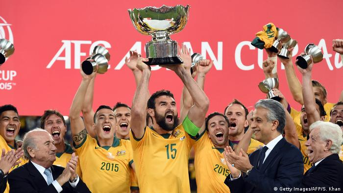 Australia are the defending champions after winning the Asian Cup on homesoil in 2015.