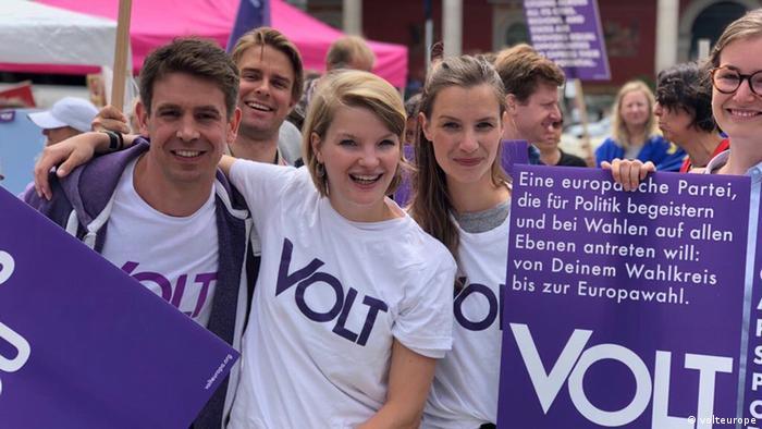 Volt Deutschland Mitglied und Europawahl Kandidatin Isabelle Heiss