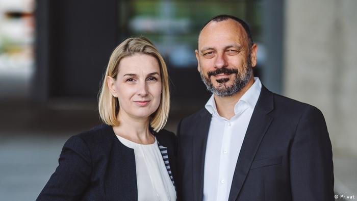 Dijana und Viktor Vetturelli aus Zagreb