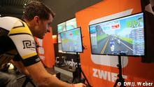 Zwift - virtuelles Radrennen, Amateursportler in Koblenz