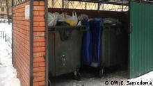 Russland Müllentsorgung in Moskau