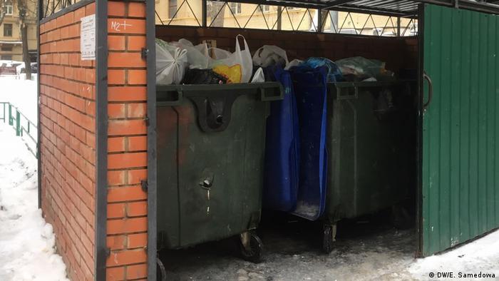 Мусорные контейнеры в Москве