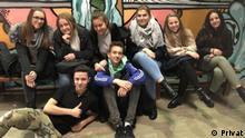 Bosnien-Herzegowina Schüller des Gymnasiums und der Berufsschule in Jajce