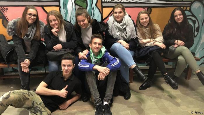 Bosnien-Herzegowina Schüller des Gymnasiums und der Berufsschule in Jajce (Privat)