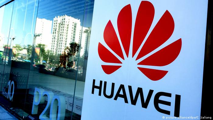 View of a Huawei store (picture-alliance/dpa/C. Jialiang)