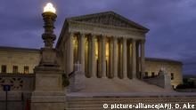 USA, Washington: Supreme Court im Winter