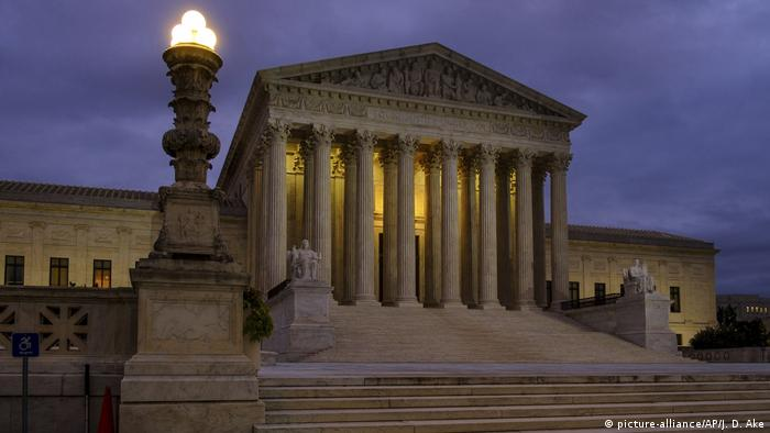 The US Supreme Court in Washington