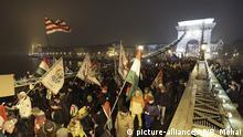 Ungarn, budapest: Proteste gegen die Regierung