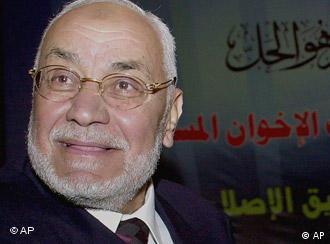 Mehdi Akef ist der Oberste Führer der Muslimbrüder (Foto: AP)