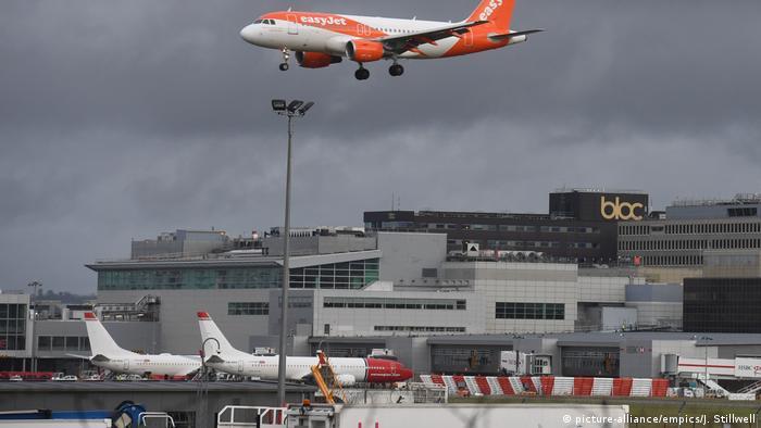 Flughafen London-Gatwick (Foto: picture-alliance)