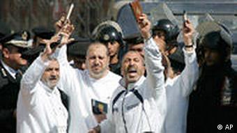 Muslimbrüder demonstrieren in Kairo (Foto: AP)