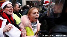 Gelbwesten in Frankreich Protest