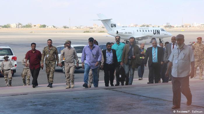 UN Team Untersuchung Yemen (Reuters/F. Salman)