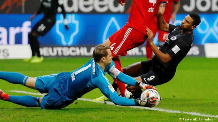 Deutschland Bundesliga - Eintracht Frankfurt v Bayern München