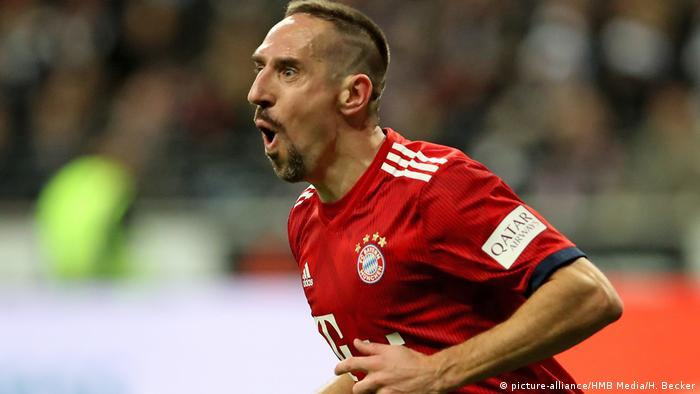 Deutschland Bundesliga - Eintracht Frankfurt v Bayern München | Tor Ribery