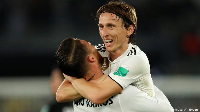 UAE Luka Modric im Club-WM-Finale gegen Al Ain (Reuters/A. Boyers)