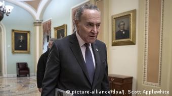 USA Haushaltssperre wird über Weihnachten verlängert   Chuck Schumer