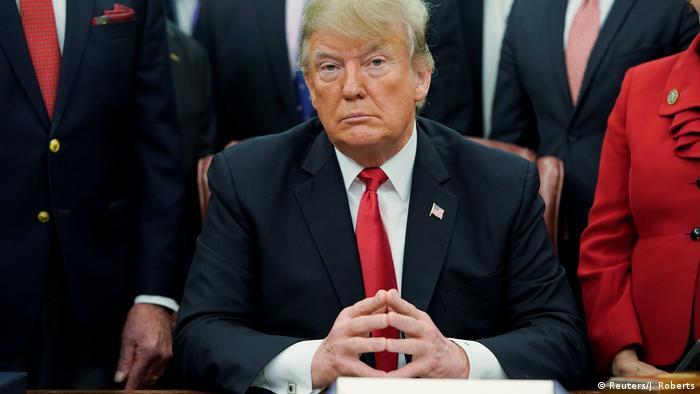 Donald Trump, presidente de EE. UU.