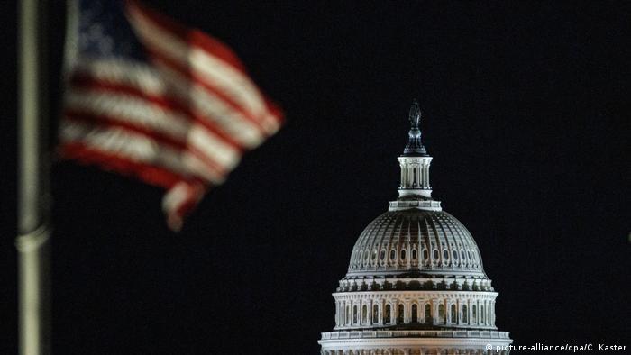 O Capitólio, em Washington, sede do Congresso dos EUA