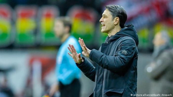Niko Kovac has already endured some tough times at Bayern (picture-alliance/dpa/U. Anspach)