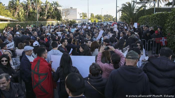 Morocco backpacker murders: Hundreds hold vigil across