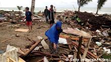 Indonesien Sunda Strait Tsunami