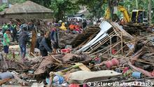 Indonesien Sundastraße Tsunami (picture-alliance/AP Photo)
