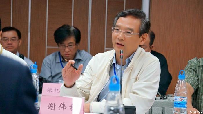 China Wirtschafts-Experte Tony Tse Wai Tsuen