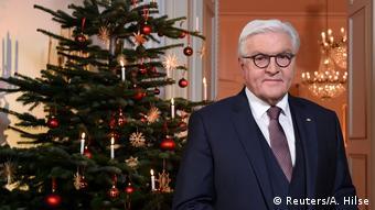 Bundespräsident Frank-Walter Steinmeier Weihnachtsansprache 2018 (Reuters/A. Hilse)