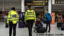 Gatwick Flughafen Polizei