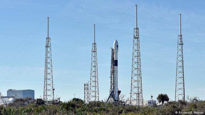 USA Florida - SpaceX Falcon 9 Rakete for Start