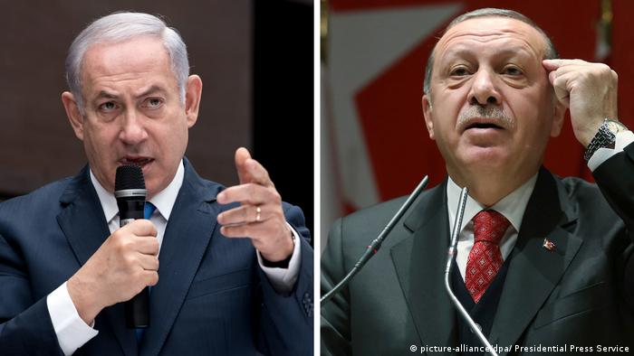 Recep Tayyip Erdogan und Benjamin Netanjahu