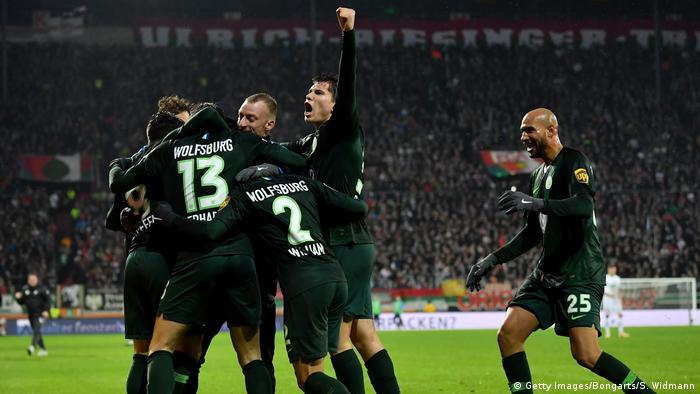 Deutschland FC Augsburg v VfL Wolfsburg - Bundesliga   Tor Gerhardt (Getty Images/Bongarts/S. Widmann)